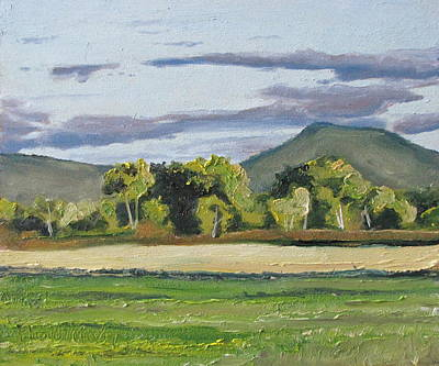Eastern Townships Painting - At The End Of September Lapatrie Quebec Canada by Francois Fournier