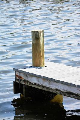 Panama City Beach Photograph - At The End Of The Dock by Tamra Lockard