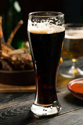 Beer Royalty-Free and Rights-Managed Images - At the English pub by Vadim Goodwill