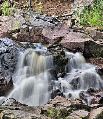 Duchesne Photograph - At The Falls by Andrew Miles