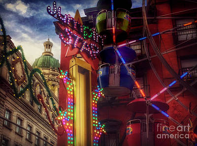 Photograph - At The Feast Of San Gennaro - Colors Of Joy by Miriam Danar