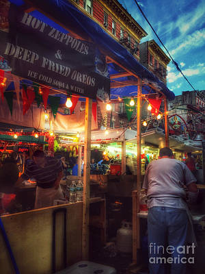 Photograph - At The Feast Of San Gennaro - Deep-fried Oreos by Miriam Danar