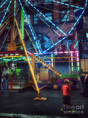 Photograph - At The Feast Of San Gennaro - Night Of A Thousand Lights by Miriam Danar