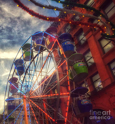 Photograph - At The Feast Of San Gennaro - Reaching For The Sky by Miriam Danar