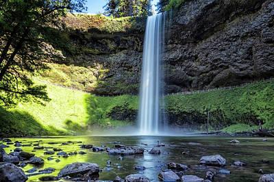 Photograph - At The Foot Of South Falls, No. 2 by Belinda Greb