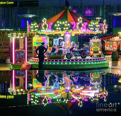 Photograph - At The Funfair by Colin Rayner