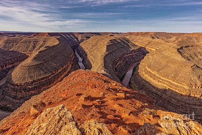 Photograph - At The Gooseneck  by Jaquita Watters