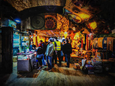 At The Grand Bazaar Art Print by Steve Taylor