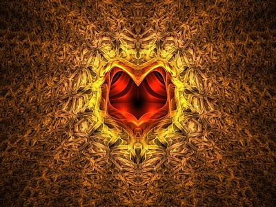 Apo Digital Art - At The Heart Of The Matter by Lyle Hatch