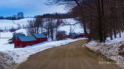 Photograph - At The Jenne Farm by Scenic Vermont Photography