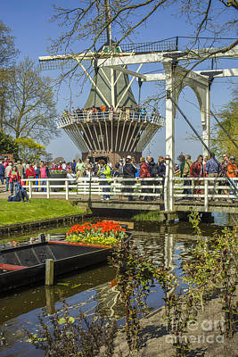 Photograph - At The Keukenhof Gardens by Patricia Hofmeester