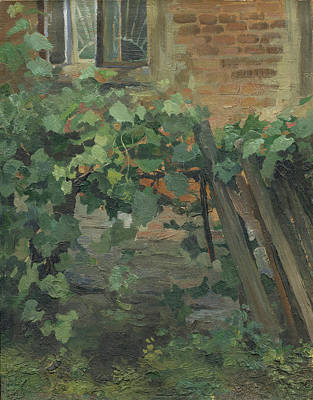 At The Kharkov Art College Courtyard Original