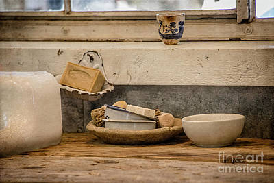 Photograph - At The Kitchen Sink by Teresa Wilson