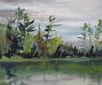 At The Lake Art Print by Francois Fournier