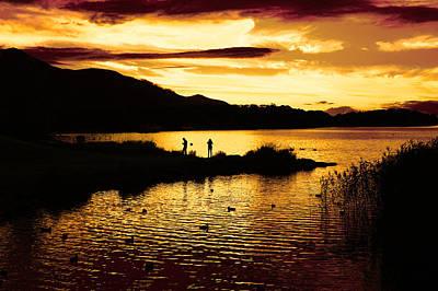 Photograph - At The Lakes by Aidan Moran