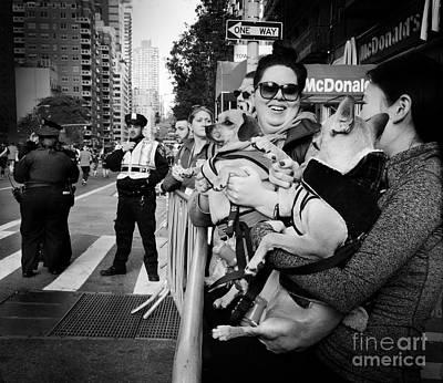 Photograph - At The Marathon - New York City by Miriam Danar