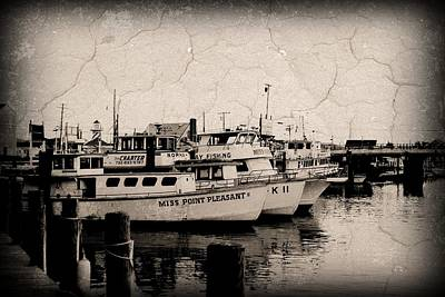 Photograph - At The Marina - Jersey Shore by Angie Tirado