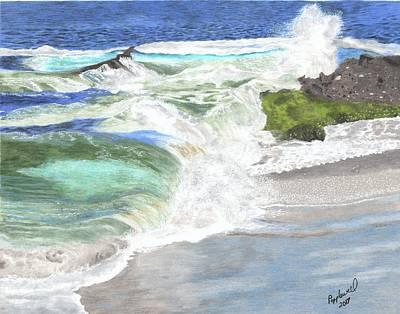 Laguna Beach Painting - At The Montage - Laguna Beach by Tom Popplewell