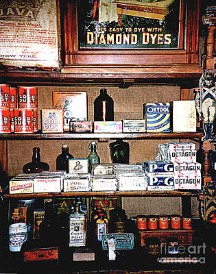 Photograph - At The Old General Store - Cooperstown Ny by Merton Allen