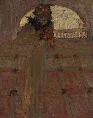 Painting - At The Opera by Edouard Vuillard
