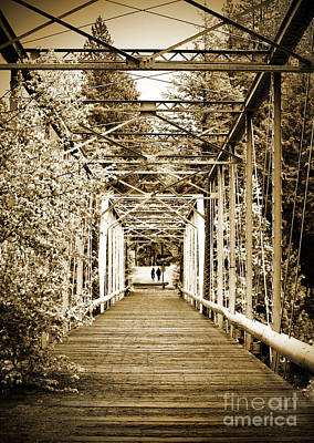 Photograph - At The Other End Of The Old Bridge by Tara Turner