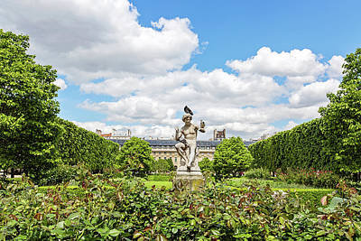 Photograph - At The Palais Royal Gardens by Melanie Alexandra Price