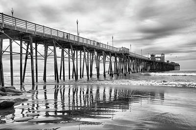 Photograph - At The Pier by Barbara Manis