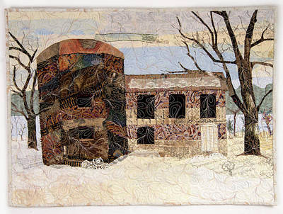 Tapestry - Textile - At The River's Edge by Martha Ressler