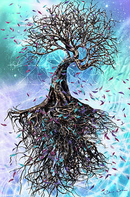 Root Of Mixed Media - At The Root Of All Things by Chris Cole
