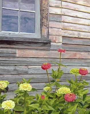 Painting - At The Shelburne by Lynne Reichhart