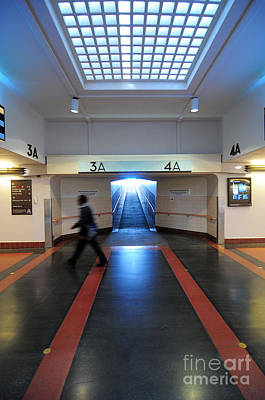 Photograph - At The Station by Adrian Lewandowski