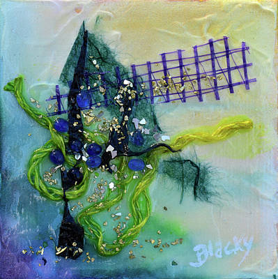 Mixed Media - At The Summit by Donna Blackhall