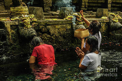 Photograph - At The Temple 1 by Werner Padarin