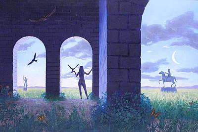 At The Threshold Art Print by Jonathan Day