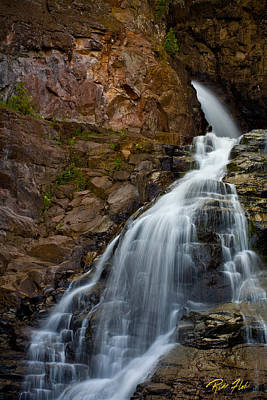 Photograph - At The Top Of Caribou Falls by Rikk Flohr