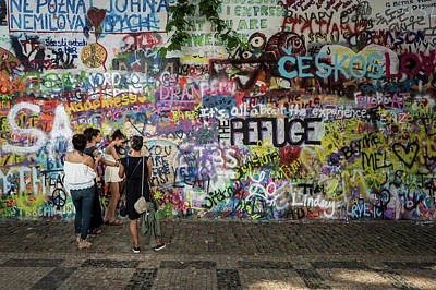 Photograph - Lennon Wall by M G Whittingham