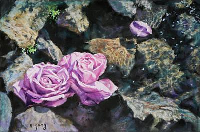 Pastel - At The Wedding by Nancy Yang