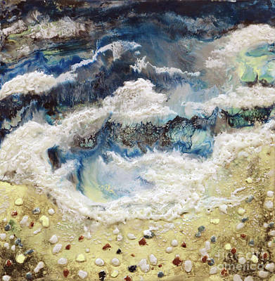 Painting - At Water's Edge II by Laurie Tietjen