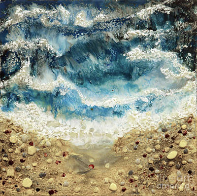 Painting - At Water's Edge V by Laurie Tietjen
