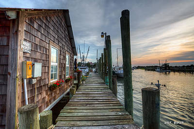 Photograph - At Waters Edge by Walt Baker