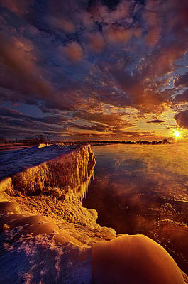 Unity Photograph - At World's End by Phil Koch