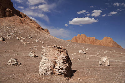 Photograph - Atacama Moonscape by Michele Burgess