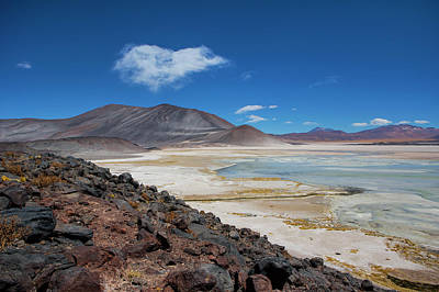 Photograph - Atacama Salt Lake by David Hare