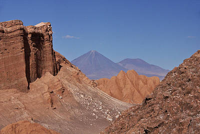 Photograph - Atacama Valley Of The Moon by Michele Burgess