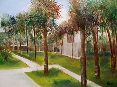 Painting - Atalaya Huntington Beach Sc by Phil Burton