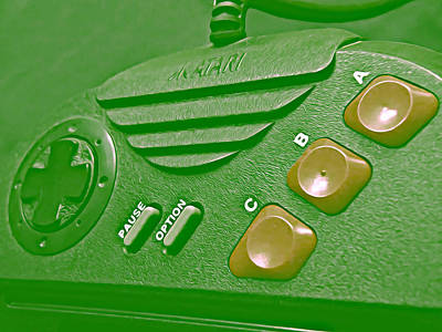 Photograph - Atari Jaguar Controller by Kyle West