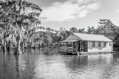 Photograph - Atchafalaya Basin Fishing Camp by Andy Crawford