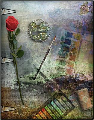 Digital Art - Atelier by Linda Carruth