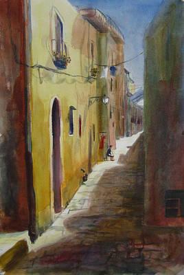 Atena Lucana Art Print