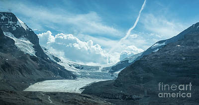 Photograph - Athabasca Glacier by Bianca Nadeau